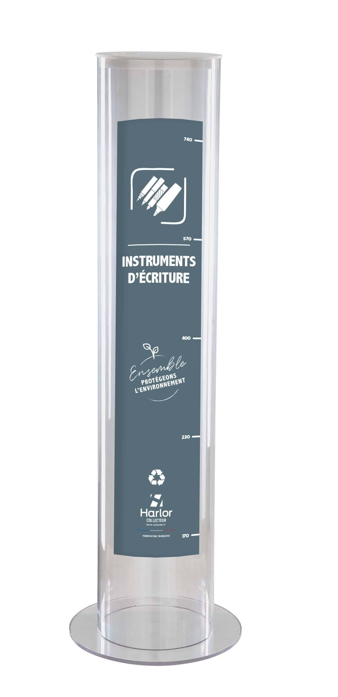 Harlor Collecteur - Collecteur d'instruments d'écriture modèle 30L