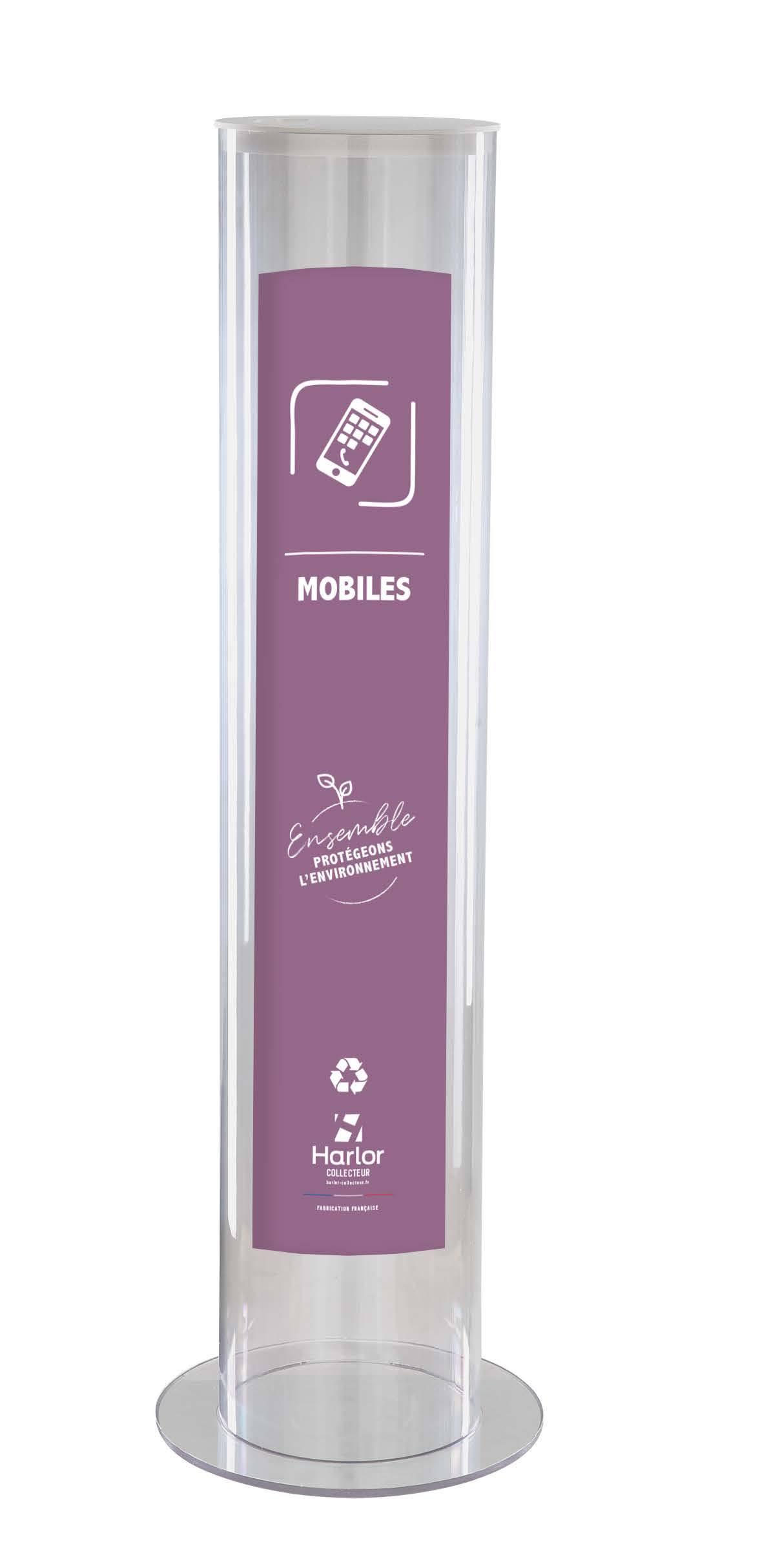 Harlor Collecteur - Collecteur Mobiles grand modèle 30L