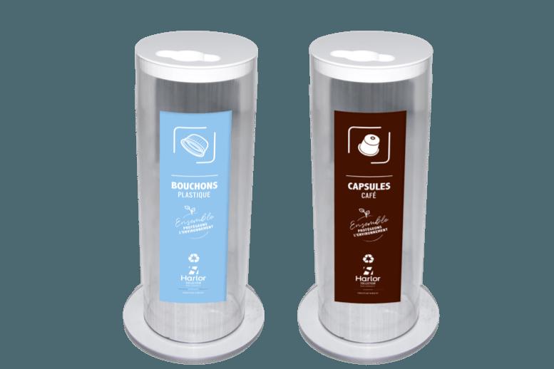 Harlor Collecteur - Collecteur de bouchons et capsules de café