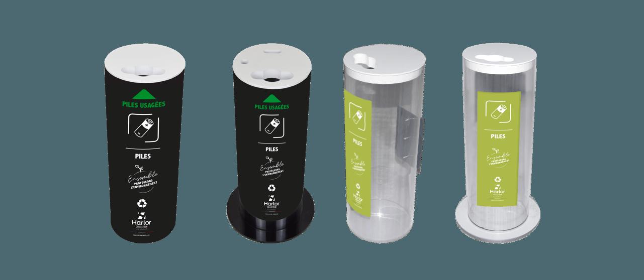 Harlor Collecteur - Collecteur de piles usagées