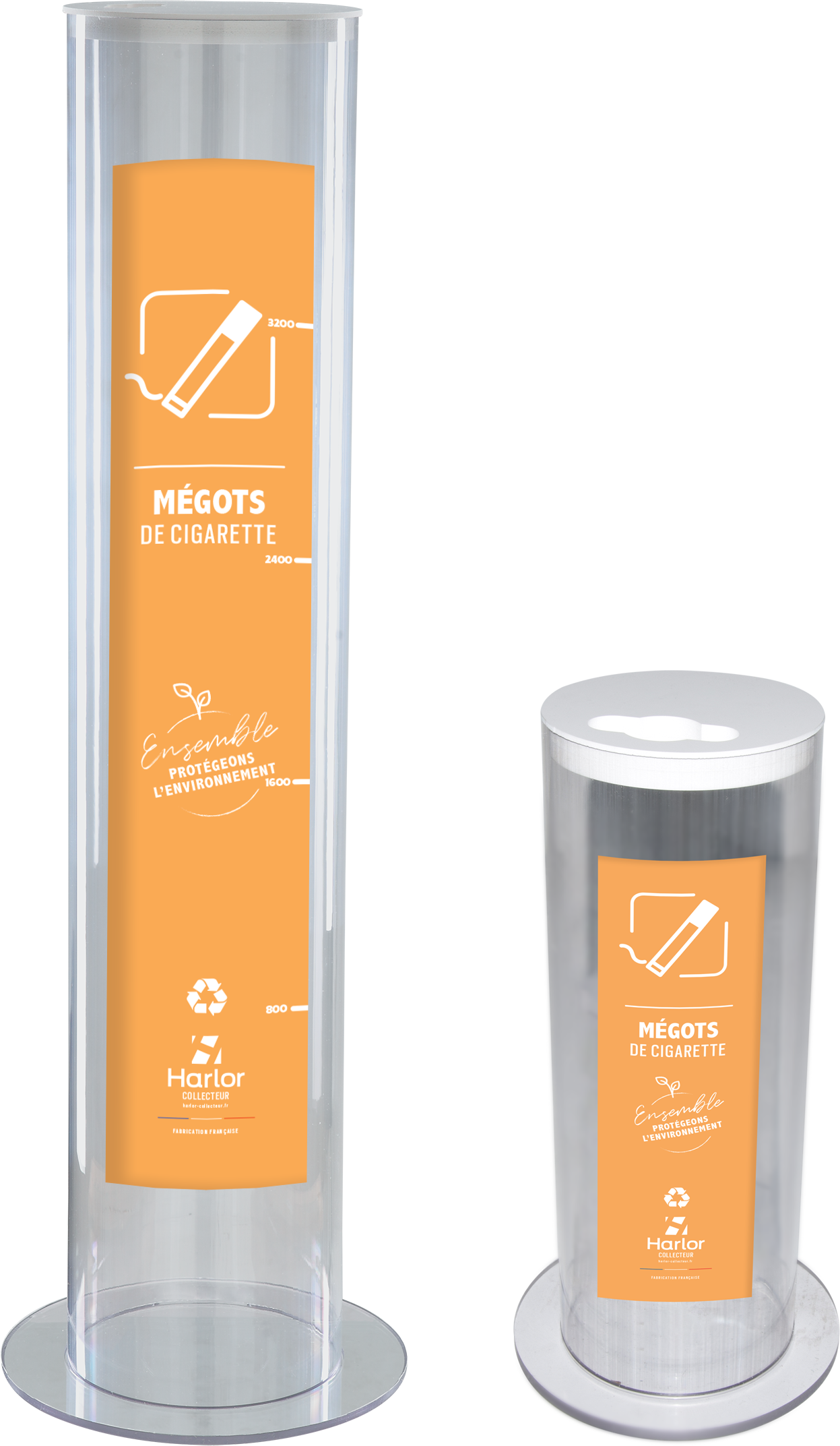 HARLOR COLLECTEUR - collecter les megots de cigarette - collecteur