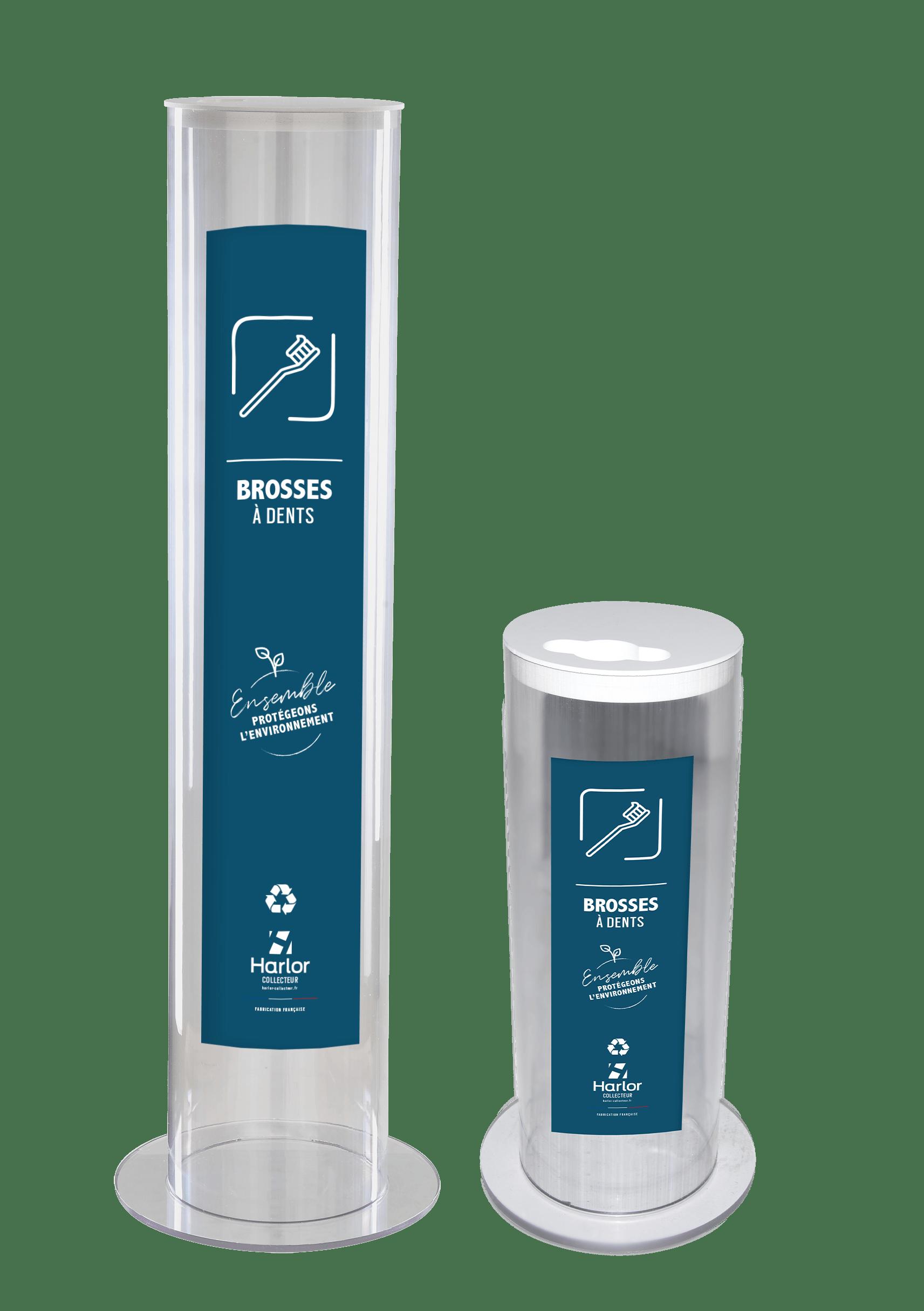 HARLOR COLLECTEURcollecteur de brosses a dents- recyclage brosse a dent- poubelle