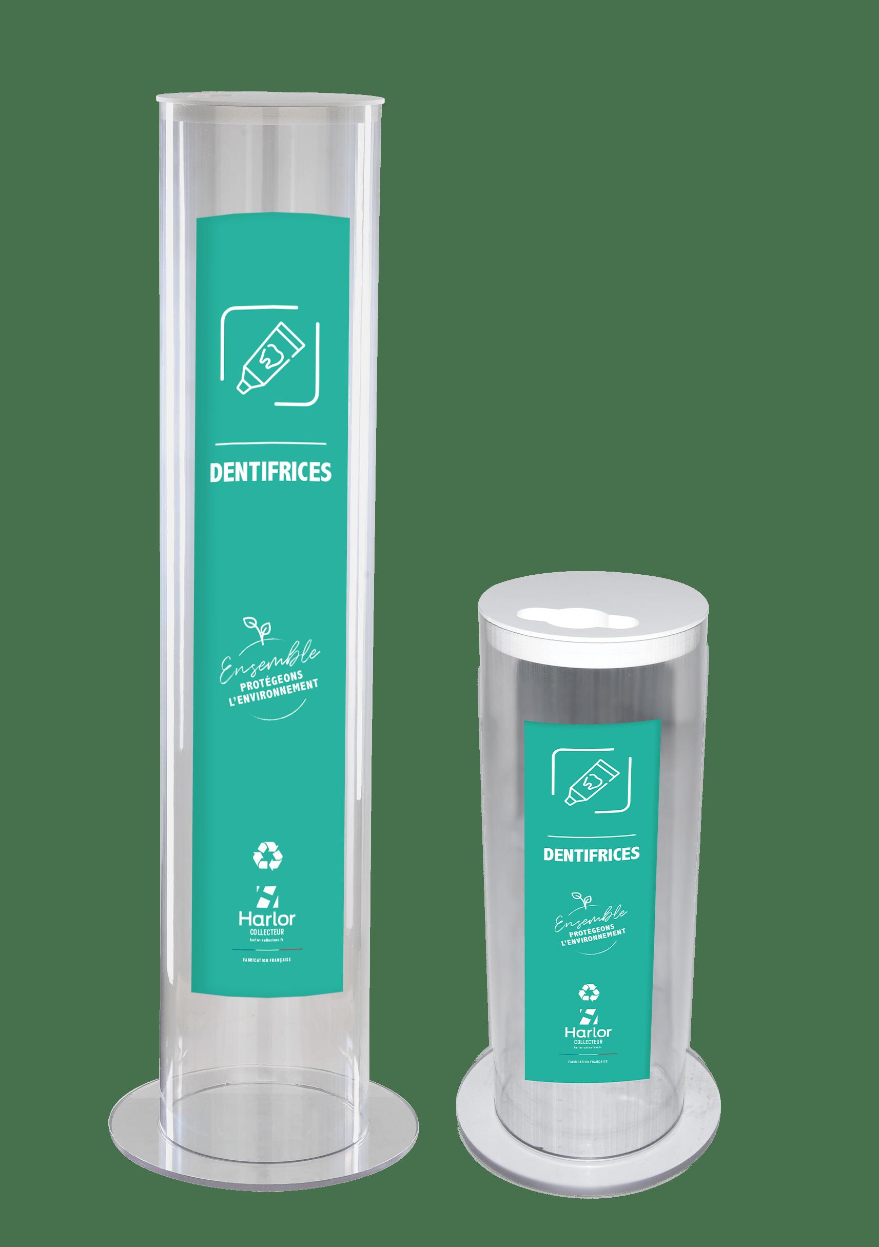 HARLOR COLLECTEUR collecteur dentifrices- poubele pour dentifrice- recyclage dentifrice